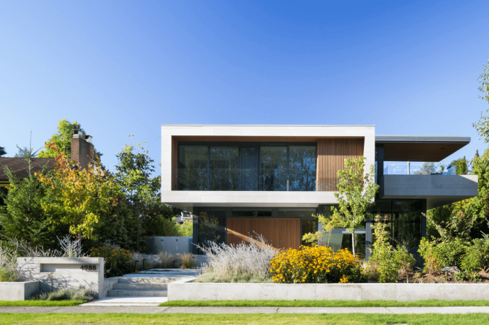 A stunning contemporary home