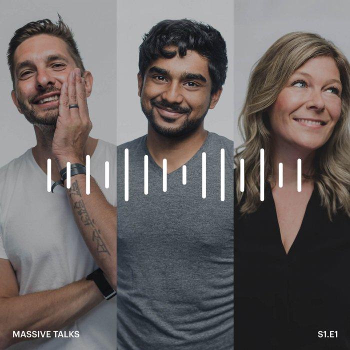 Lindsay, Rene, and Prem, from Massive Talks Podcast